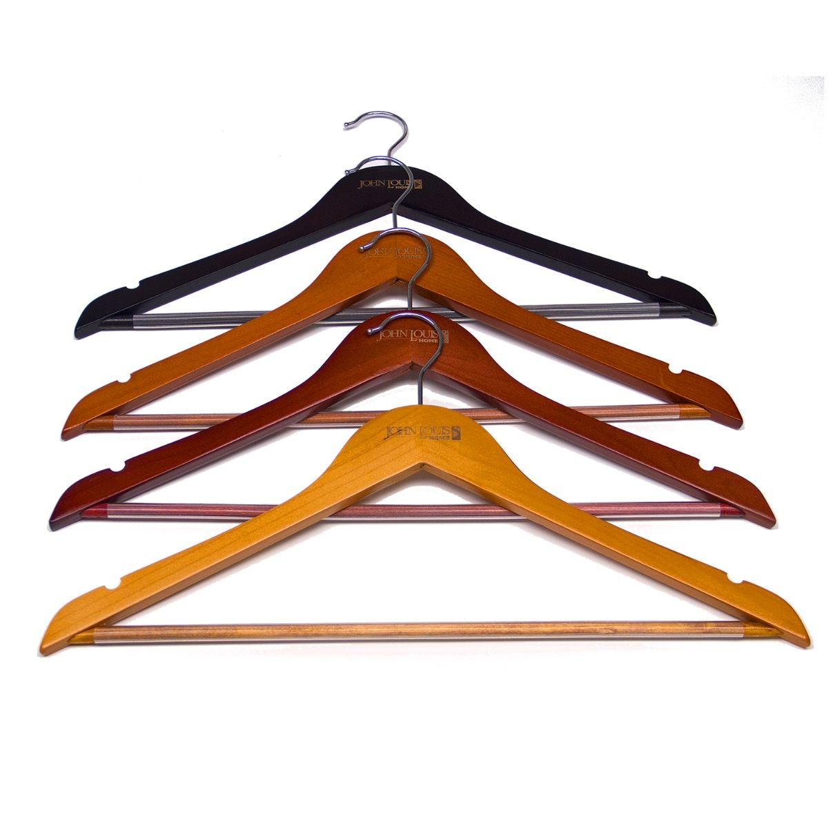 Solid Wood Hangers Set Of 10