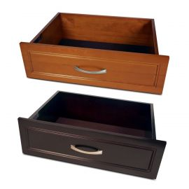 16in. x 6in. Woodcrest Drawer Caramel finish