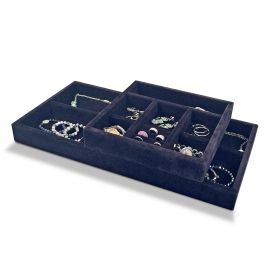 15in. Deep Jewelry Half Tray - For 16in. Deep Drawers