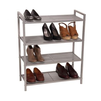 2 Shelf Metal Storage Rack main