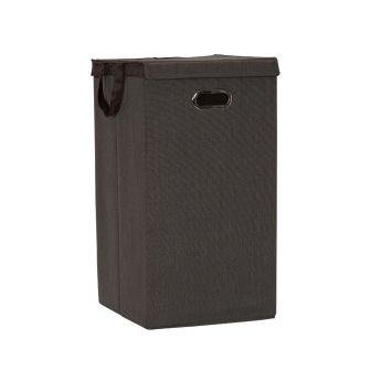 Collapsible Laundry Hamper w lid - Desert Sand Main
