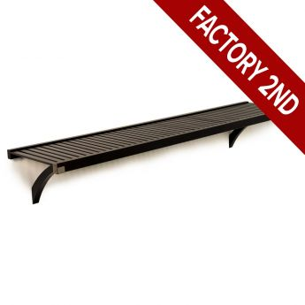16in. Deep Woodcrest 6ft. Shelf kit Espresso finish