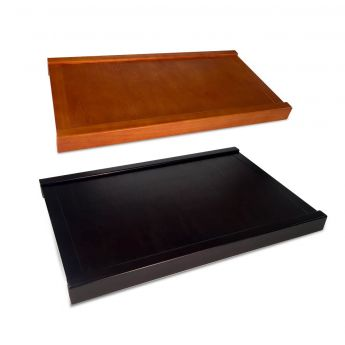 12 inch woodcrest carmel solid drawer top main image