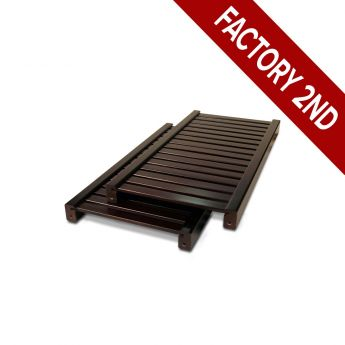 12in. Deep Adjustable Shelf 2-Pack Honey Maple finish