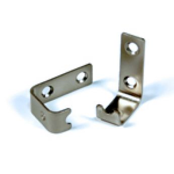 Shelf Mounting Hardware Nickel Finish